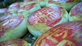 Китайское печенье после испеченный Стоковое Фото