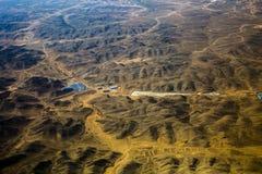 Китайское плато лёсса Стоковое Изображение