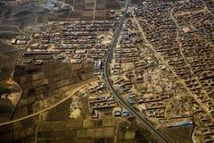 Китайское плато лёсса Стоковая Фотография RF