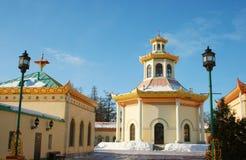 китайское село pushkin стоковое фото
