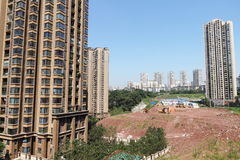 Китайское снабжение жилищем стоковые изображения