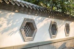 Китайское старинное здание Windows Стоковое Фото