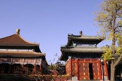 Китайское стародедовское здание стоковое изображение rf