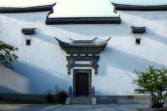 Китайское стародедовское зодчество Стоковое Изображение