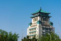 Китайское стародедовское здание стоковая фотография rf