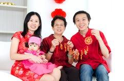 китайское счастливое Новый Год Стоковые Фотографии RF