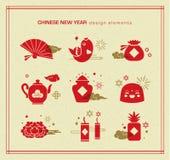 китайское счастливое Новый Год бесплатная иллюстрация