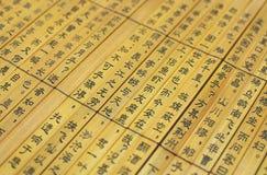 Китайское слово стоковые фотографии rf
