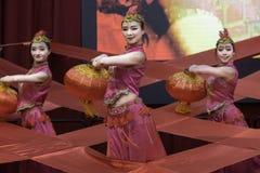 Китайское торжество 2018 Нового Года Стоковые Изображения