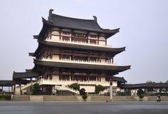 Китайское традиционное здание Стоковое фото RF