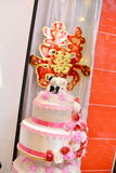 китайское традиционное венчание Стоковая Фотография RF