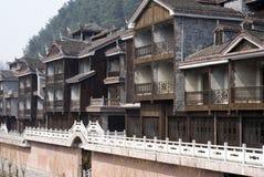 Китайское традиционное зодчество Стоковые Фото