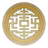 китайское традиционное окно Стоковые Фотографии RF