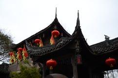 Китайское тысячелетнее старое architecture2 стоковые изображения rf