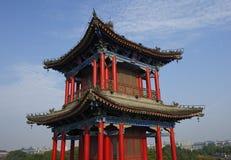 Китайское уникально традиционное здание павильона стоковая фотография