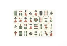 китайское jong mah Стоковое Изображение RF