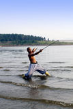 китайское kung fu Стоковые Изображения RF