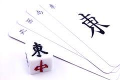 китайское mahjong игры Стоковая Фотография RF