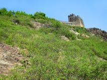 Китайское muur; Великая Китайская Стена, провинция Хэбэя, Китай стоковое изображение rf