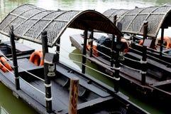 китайское sampan Стоковые Изображения RF