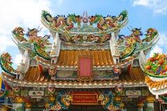 китайское temple01 стоковая фотография rf