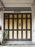 Китайско-португальская дверь стоковые изображения rf