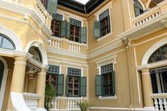 Китайско-португальские здания Стоковая Фотография RF