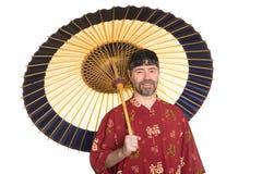 китайцы одевают европейское традиционное стоковое изображение