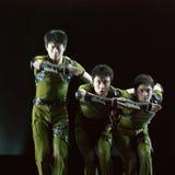 китайцы танцуют самомоднейшее Стоковая Фотография