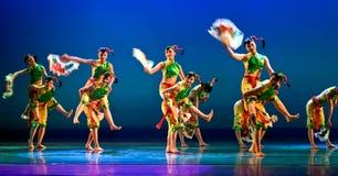 китайцы танцуют самомоднейшее Стоковое Изображение RF