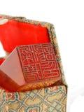 китайцы штемпелюют традиционное Стоковое Изображение RF