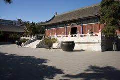 Китай, Азия, Пекин, грандиозный сад взгляда, античные здания Стоковое Фото