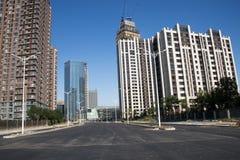 Китай, Азия, Пекин, жилой район Wangjing Стоковое фото RF
