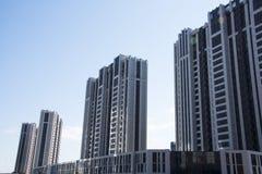 Китай, Азия, Пекин, жилой район Wangjing Стоковые Изображения