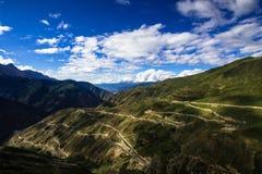 Китай внутренней дороги 318 Стоковые Фотографии RF