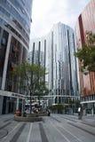 Китай и Азия, Пекин, Sanlitun SOHO, современные здания, коммерчески район Стоковые Фотографии RF