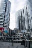 Китай и Азия, Пекин, Sanlitun SOHO, современные здания, коммерчески район Стоковые Изображения RF
