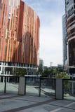 Китай и Азия, Пекин, Sanlitun SOHO, современные здания, коммерчески район Стоковая Фотография RF