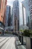 Китай и Азия, Пекин, Sanlitun SOHO, современные здания, коммерчески район Стоковые Фото
