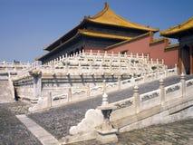 Китай - Пекин - запрещенный город стоковая фотография