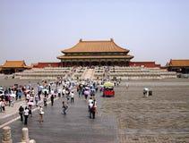 Китай, Пекин: Имперский запретный город дворца, также известный как Gugun Стоковое фото RF