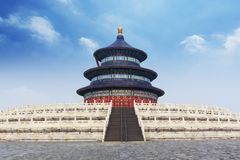 Китай Пекин Temple of Heaven стоковое изображение rf