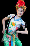 Китай, представления танца оперы Пекина Стоковые Изображения RF