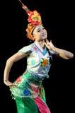 Китай, представления танца оперы Пекина Стоковое Изображение RF