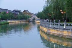 Китай Река Хуанхэ - город Кайфэна Стоковая Фотография RF