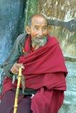 Китай, Тибет, монах стоковая фотография