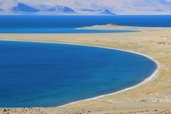 Китай Тибет, озеро Zharinan Стоковая Фотография