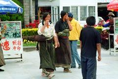 Китай, Тибет стоковые фотографии rf