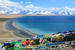 Китай Тибет, Namtso Стоковая Фотография