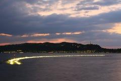 Китай Ханчжоу, западное озеро Стоковое фото RF